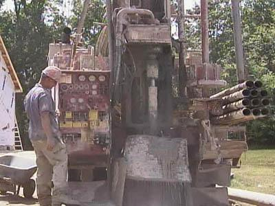 well driller, well-drilling machinery