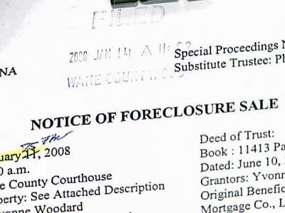 Foreclosure Market
