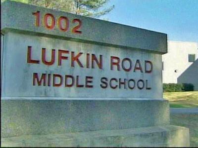 Lufkin Road Middle School in Apex.