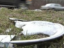 Raleigh Officials Want Roadside Garbage Gone