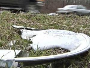 Roadside Garbage, trash, litter