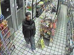Chapel Hill police released this convenience store surveillance photo of a man wanted in the homicide of Eve Carson. It was taken about the same time someone tried to use Carson's ATM card inside the store.