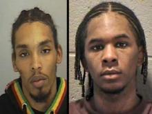 Demario James Atwater, left, and Laurence Alvin Lovette