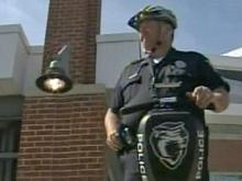 Officers on Segway Provide Tournament Security
