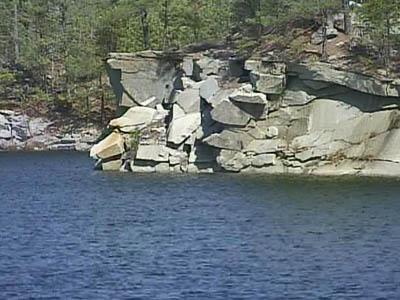 Quarry near Rolesville