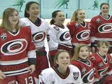 Raleigh Teens Bring Girl Power to Hockey Rink