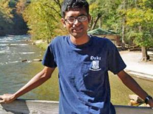 Abhijit Mahato, 29, a Ph.D. engineering candidate from India, was shot to death at an apartment complex, university police said. (Photo from Respectance.com)