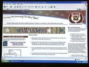 Attorney General Investigating Voter Registration Web Site