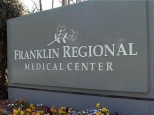 Franklin Regional Medical Center is in danger of losing its ability to bill the government for Medicaid and Medicare services.
