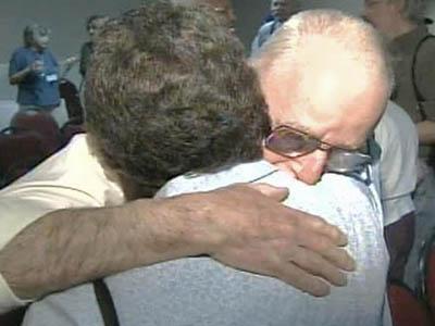 Vets, Holocaust Survivors Reunited With Hugs, Tears
