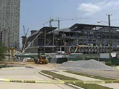 Development in downtown Raleigh and other areas has been stalled due to the mortgage and credit crisis.