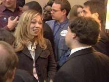 Edwards, Chelsea Clinton Talk to Young Democrats