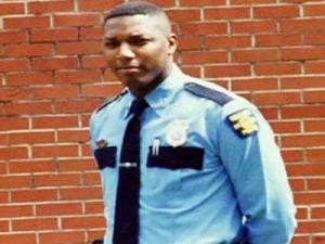 National Guardsman and Wallace police detective Emanuel Pickett.
