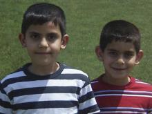 Kaled Shahin, 9, and Basil Shahin, 7, died after they ran into traffic April 2, 2008. They loved learning and loved to read, their parents say.
