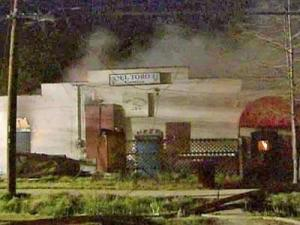 A fire broke out at El Toro nightclub, 608 S. Hoover Road in Durham, early Saturday, April 12, 2008.