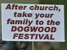 Some Say Dogwood Festival Is Not Being Fair?