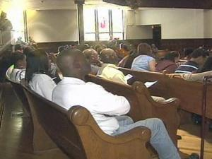 A Youth Violence Forum was held Wednesday evening at Hayti Heritage Center to discuss the dynamics of youth violence.