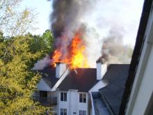 Fayetteville Fire Damages 12 Apartment Units