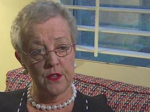 Helen Sewell, in this December 2006 file photo, was the jury clerk for the Wake County court system for 25 years.