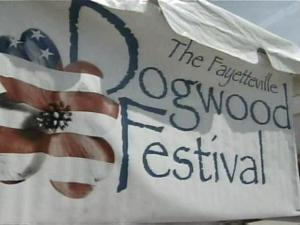 Dogwood Festival sign