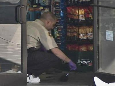 Convenience store robbery investigation