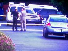 Authorities investigate after two sheriff's deputies were involved in a shooting at the InTown Suites on 1491 Highway 70 West on Wednesday, April 30, 2008.