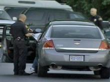 Suspect hit when Wake deputies fire shots