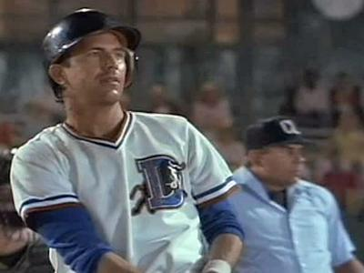 """""""Bull Durham"""" was shot on location at the Durham Athletic Park and released in 1988."""