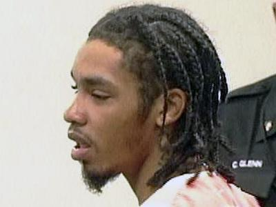 Demario James Atwater appears in court on May 1, 2008, for a probation hearing stemming from a February 2005 conviction.
