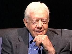 "Former President Jimmy Carter pays homage to his mother  in a new book, ""A Remarkable Mother."" He ascribed to her the inspiration for his own life's work of commitment and faith."