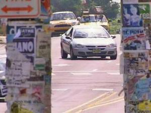 Hillsborough Street in Raleigh.