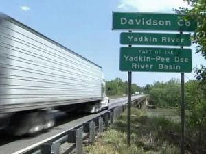 There is a proposal to replace the Yadkin River Bridge, just east of Salisbury on I-85, with a toll bridge.