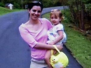Michelle Young with daughter, Cassidy, on Easter 2006.