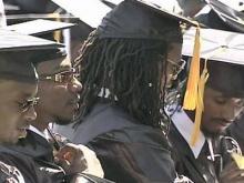 Graduation ceremonies held at Triangle schools