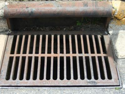 Police say they have received several reports of drain covers, similar to the one pictured, being stolen in the town of Clayton.