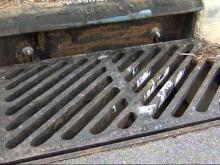 Metal rustlers target storm drains