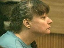 Lynn Paddock listens to opening statements in her murder trial on May 23, 2008.