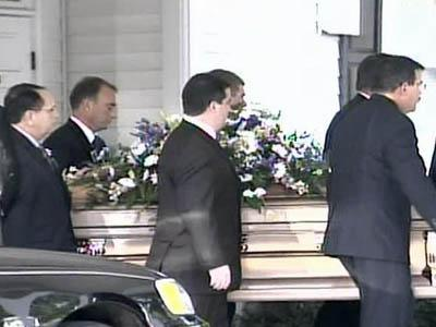 The funeral service for Sallie Rohrbach was held at the Thomas Funeral Home in Fuquay-Varina.