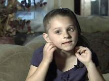 6-year-old girl saves brother after fiery crash
