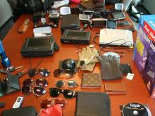 A Cary police photograph of items seized from Roy Askey.