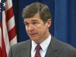 During a news conference June 3, 2008, Attorney General Roy Cooper says increased gang activity and drugs are two reasons overall crime is up for the second year in a row.