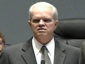 A 4 p.m. news conference to introduce Thomas Bonfield was held Tuesday at Council Chambers at Durham's City Hall.