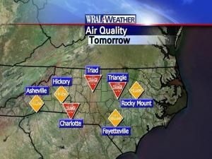 Air quality for Friday, June 6, 2008