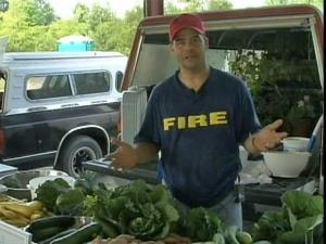 Farmer Wayne Perry expects to raise the prices he charges at the Franklin County Farmer's Market.