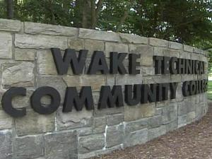 Wake Tech sign / Wake Technical Community College