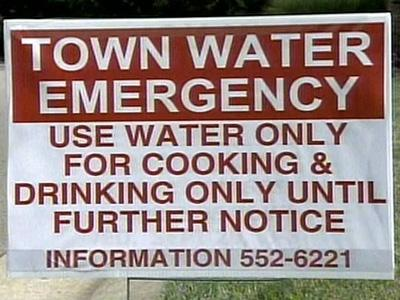 NC towns rush to secure water after line breaks
