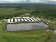 Vigil takes aim at hog waste lagoons