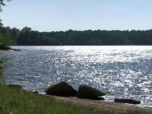 On Tuesday, June 17, 2008, Falls Lake currently stood at 251.24 feet.