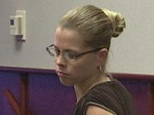 Shannon Lynn Best at a June 18, 2008, court appearance, in which she pleaded guilty to a charge of misdemeanor crime against nature and giving alcohol to a student. Best, a former teacher, has admitted to kissing a student, which is illegal.