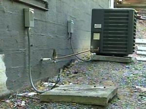 Thieves are going after air conditioning units, hoping to sell copper piping from inside them.